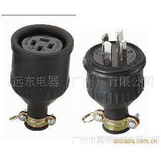 三相四线插头连接器,三相四线明装插头,大电流插头