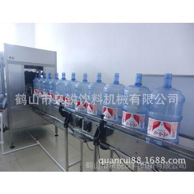 1200桶/小时直线式全自动灌装生产线 大型水厂桶装水灌装生产设备