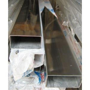 供应304 不锈钢矩形管,规格10*30制品管,扁通10*