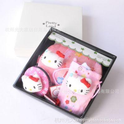和风招财猫礼盒 AO-2 和风布艺系列 KITTY礼盒三件套