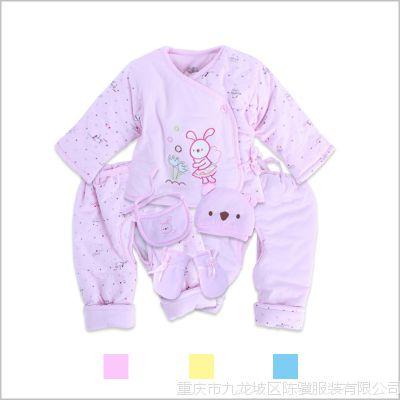 批发2013新款金洁舲婴幼儿棉衣儿童套装婴儿服棉衣童装厂家直销