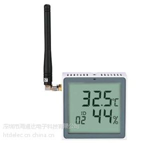HTD-WTH523无线温湿度采集显示器
