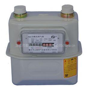 供应家用煤气表/天然气计量表/皮膜表