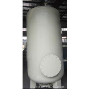 供应康强碳钢Q235衬胶锰砂过滤器(KQ-1500)