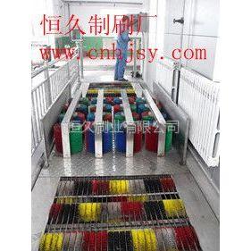供应煤矿机械彩色刷辊 洗靴机毛刷辊