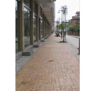 亚石地坪供应西安市市政压花地坪AF艺术地坪RH彩色地坪