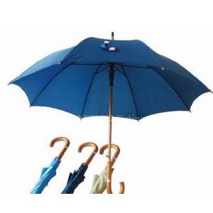 郎天雨伞供应自动木中棒直杆伞//广告伞