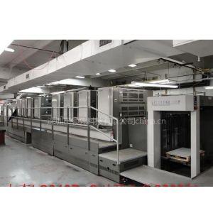供应深圳二手小森印刷机LS840P-C 胶印机