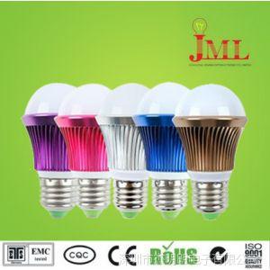 厂家人供应 LED球泡灯 3W/5W/7W E27. 2700K-6500K