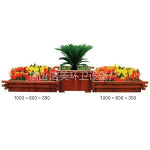 供应唐山户外花盆,木质花盆,新材花盆