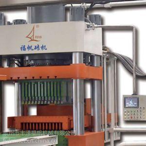 供应静压制砖机 福帆静压制作生产线 液压制砖设备