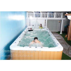 豪华spa游泳池 户外冲浪按摩浴缸大池 一体化泳池