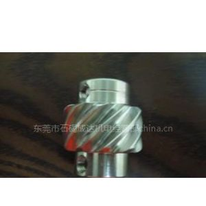 供应钛(不锈钢)驱动螺旋齿轮M2*10T*15