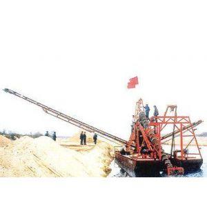 希越沙矿机械专业制造出口菲律宾淘金船、沙金提取设备