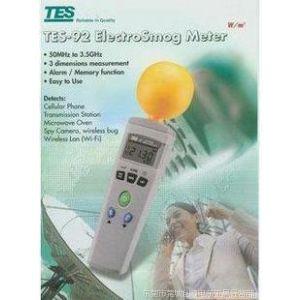供应台湾泰仕 TES-92 高频电磁波测试计 辐射检测仪