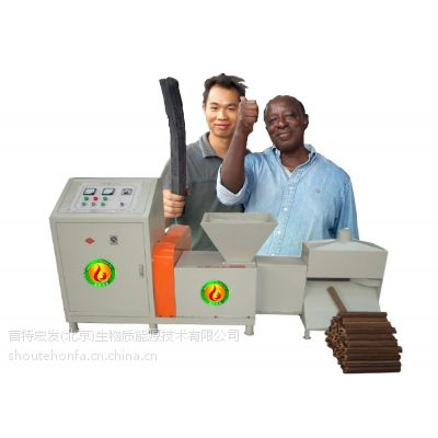 供应致富木炭机 环保木炭生产工艺流程 高效环保木炭机