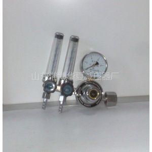 供应双流量计氩气减压器
