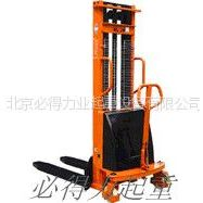 供应北京超低型堆高车,手动液压叉车参数配置