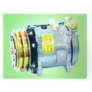 供应空调厂优质电镀前盖24V全铜离合器507-AA汽车空调压缩机