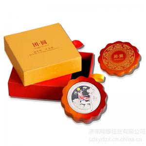 供应定做银章,定制企业邮票册,定做纯银纪念章产品