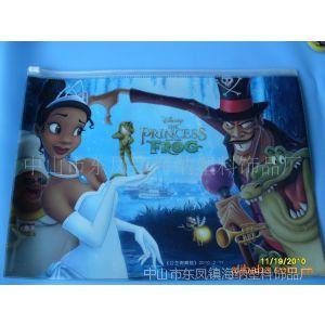 供应迪士尼童话故事PVC文件袋、磨纱证件袋\欢迎订做。