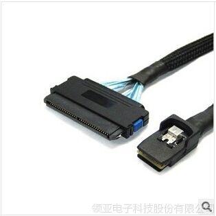 供应生产厂家 服务器用连接线36P对32P MINI SAS线 长1米 可定制