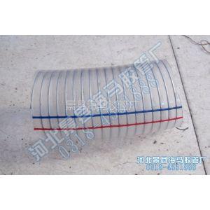 供应PVC钢丝增强透明软管 钢丝软管 透明软管