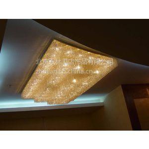 供应酒店大堂水晶灯现代水晶灯制作加工