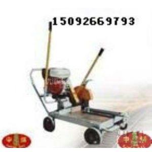 供应供应QU80.100.120铁路钢轨专用内燃切割机