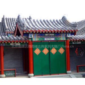 供应古建牌楼,古建大门,仿古铺面,古建门面,仿古牌楼 ,古建牌坊