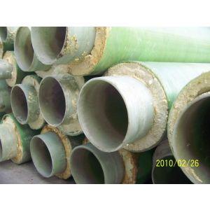 供应玻璃钢保温管FRP保温管温泉水管