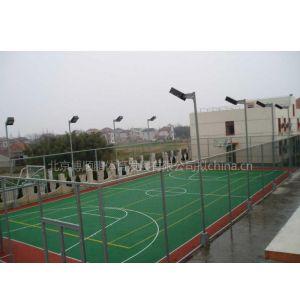 供应硅pu篮球场专业施工