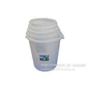 供应大量生产供应海南塑胶水桶 65L 90L 120L各种白色塑胶桶