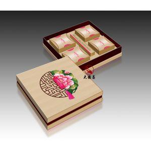 中秋花好月圆4个装月饼礼盒