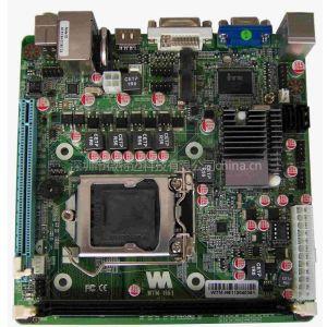供应Mini-ITX H61 3D高清多媒体异步双显工控主板(WTM-H61)