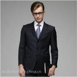 供应新款韩版修身西服 男士商务休闲西装新郎结婚礼服西服套装 河南