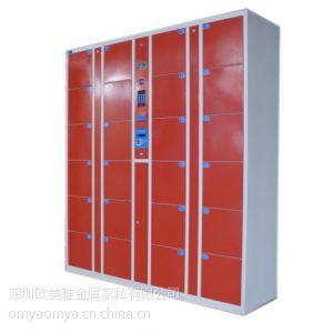 供应深圳天虹超市24门条码柜 |图书馆用条码柜|酒店存储提包柜|会所存包柜
