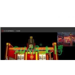 2012年成都春季糖酒会指定搭建商/成都安防展指定搭建商/成都展位设计搭建工厂