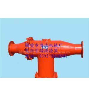 供应气体抽放管路排渣装置