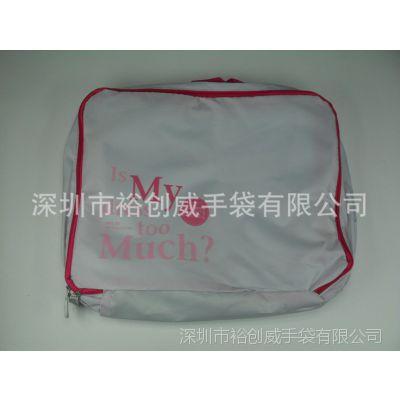 深圳手袋厂 大批量生产 出口折叠袋 牛津布210D收纳包 鞋子收纳袋