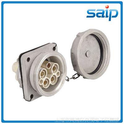 大量生产SP-4032 5P 250A 工业防水插座 防水暗装插座 (斜插式)