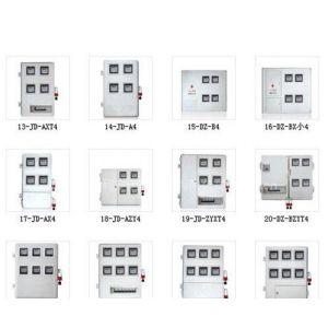 供应插卡式玻璃钢电表箱,预付费SMC电表箱,智能插卡电表箱