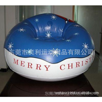 奕利供应充气沙发,充气圣诞沙发,厂家生产直销,可加印LOGO