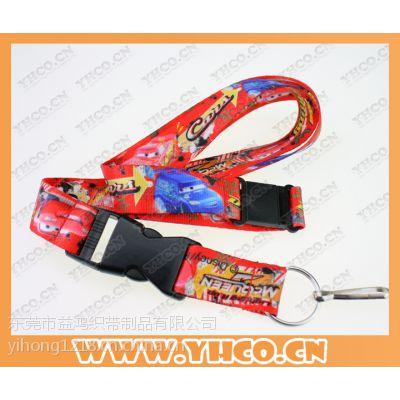 益鸿 东莞市热转印挂带厂家 热转印挂带 证件挂绳 展会挂带 儿童迪斯尼挂绳