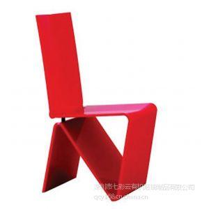 供应2013正品七彩云 压克力休闲椅 时尚创意式椅子 来图可订制