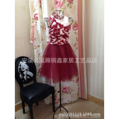 铜鑫铁艺模特架 中式女半身模特 服装店模特衣架拍摄道具 批发001
