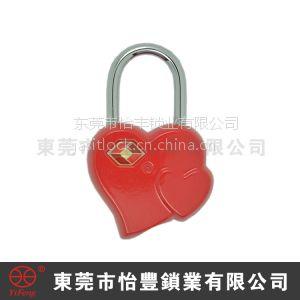 供应锌合金箱包海关密码锁 TSA密码锁 2014新款设计红点海关密码锁 旅行外出安全防盗密码锁