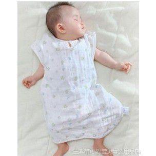 西松(77cm纱布睡袋)西松屋全棉6层纱布睡袋 防踢被