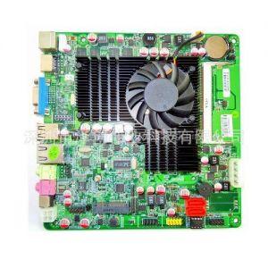 供应GT218工控主板HDMI接口 支持1080P真高清网 NVIDIA 独显 异步同显