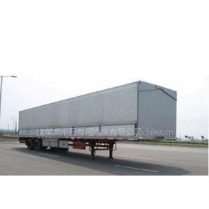 供应中昌牌翼开启厢式半挂车31吨14米6长的飞翼半挂车价格